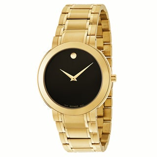Movado Men's 0606941 Stiri Goldplated Watch