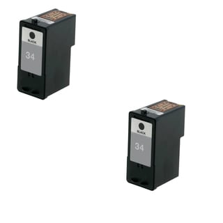 2 Pack Lexmark 18C0034 #34 Compatible Ink Cartridge For Lexmark Z810 Z812 ( Pack of 2 )