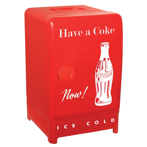 Koolatron Coca Cola Retro Fridge - 18050854 - Overstock ...