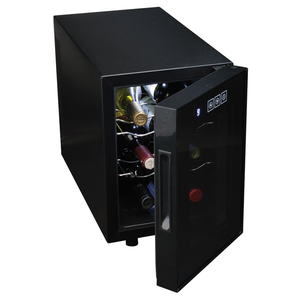 Koolatron wc06 6 bottle wine cellar 18050855 overstock for Modern homes 8 bottle wine cooler