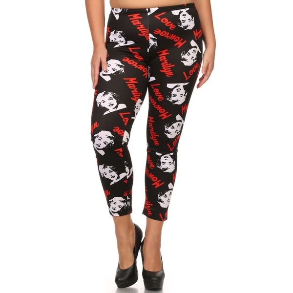 Women's Marilyn Monroe Plus Size Leggings