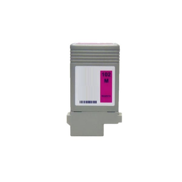 1PK PFI-102M Compatible Ink Cartridge For Canon ImagePROGRAF iPF 500 510 600 610 710 720 ( Pack of 1 )