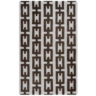 Rizzy Home Caterine Collection CE9512 Off-White Area Rug (9'x 12')