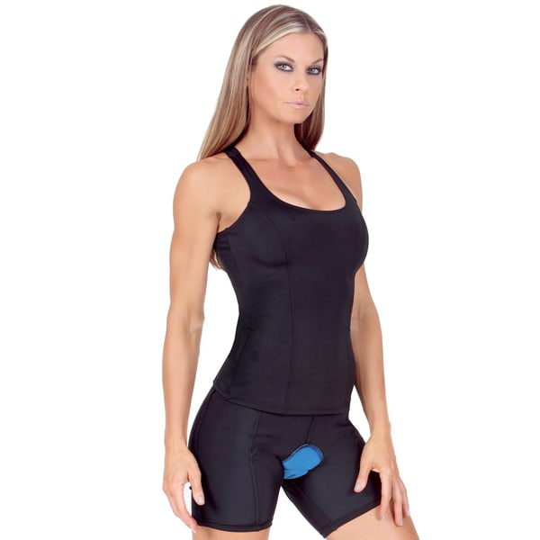 InstantFigure Women's Compression Padded Bike Short 17038297