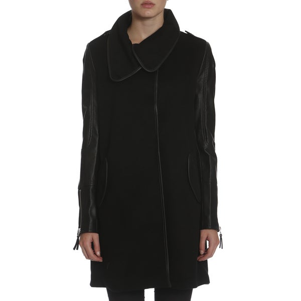 Women's The Cape Coat X-Large in Black (As Is Item)