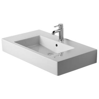 Duravit Furniture White Alpin Washbasin With Overflow, Without Tap Holes