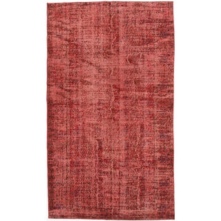 ecarpetgallery Color Transition Red Wool Rug (4'11 x 8'5)