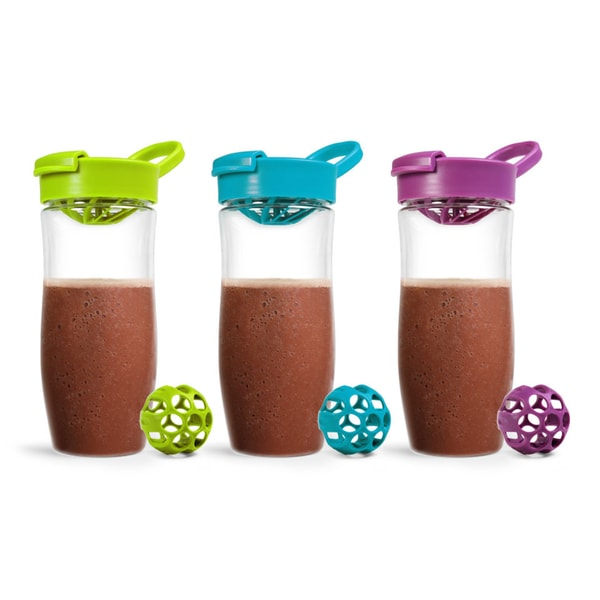 Carteret Collections Tritan Protein Shaker Bottle - 2 Pack