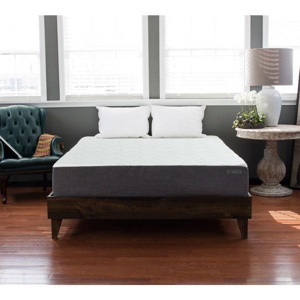 North American Pine Platform Mid-century Style Bed