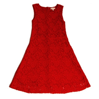 Girl's Lace Tank Party Dress