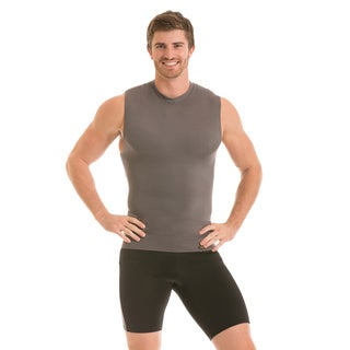Insta Slim Men's Sleeveless Crew Neck Compression T-Shirt