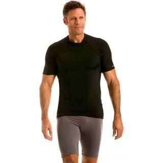 Insta Slim Men's IS Pro Crew Neck Raglan Sleeve Compression T-Shirt