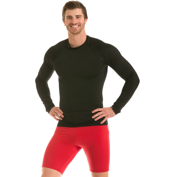 Insta Slim Men's IS Pro Compression Raglan Long-Sleeve T-Shirt