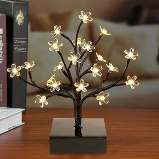 12 Inch Decorative LED Blossom Tree With Adjustable Branches