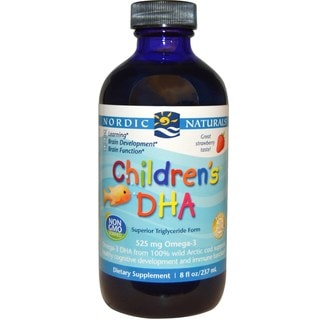 Nordic Naturals Children's Strawberry Flavor 8-ounce DHA