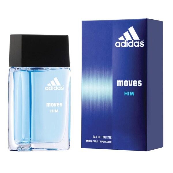 Adidas Moves for Him 1-ounce Eau de Toilette Spray