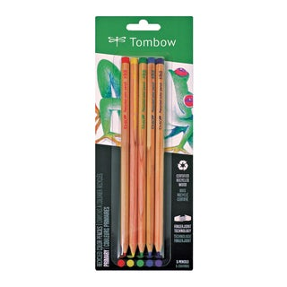 Tombow Recycled Colored Pencils Primary (Pack of 5)