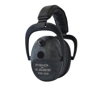 Pro Ears - Pro 300 - Electronic Hearing Protection and Amplification NRR 26 Typhon Ear Muffs