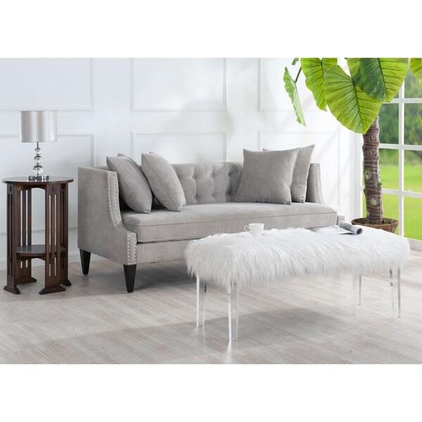 Caroline Grey Sofa