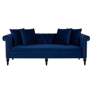 Jennifer Taylor Stanbury Estate Blue Sofa
