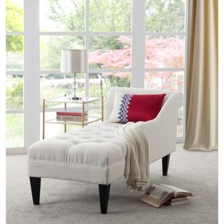 Jennifer Taylor Harrison Tufted Chaise Lounge