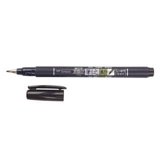 Tombow Fudenosuke Brush Pen Fine Tip Black