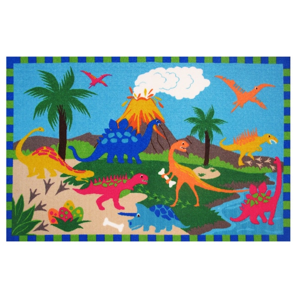 "Jurassic World Area Rug 39"" x 58"""