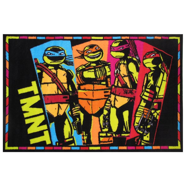 "Teenage Mutant Ninja Turtles Area Rug 39"" x 58"" 17040199"
