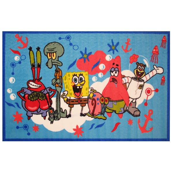"SpongeBob & Friends Area Rug 19"" x 29"""