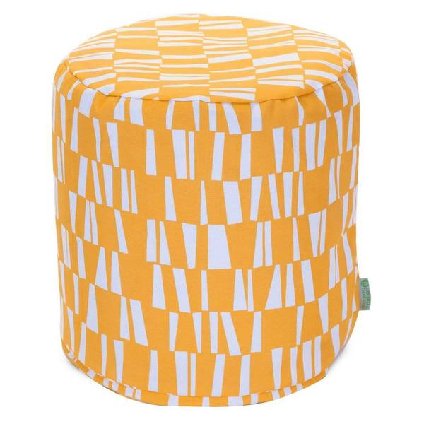 Majestic Home Goods Sticks Pouf Outdoor Indoor