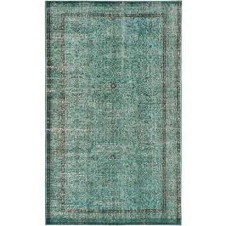 ecarpetgallery Color Transition Blue Wool Rug (5'1 x 8'6)