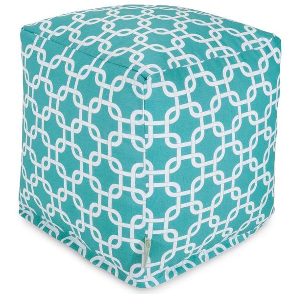Teal Links Cube