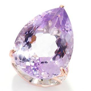 Michael Valitutti Pink Amethyst & Pink Sapphire Ring