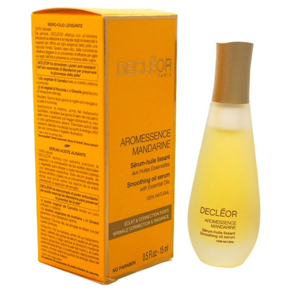 Decleor Aromessence Mandarine Smoothing Oil 0.5-ounce Serum