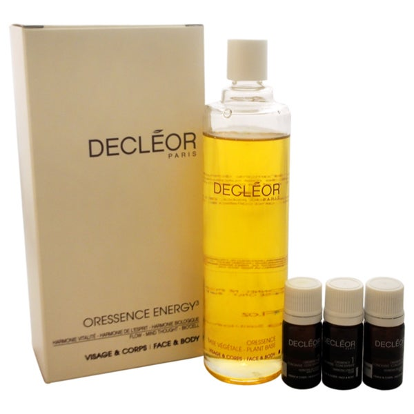Decleor Oressence Energy3 4-piece Kit