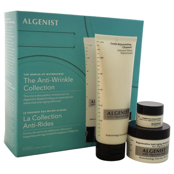 Algenist The Anti-Wrinkle Collection 3-piece Kit