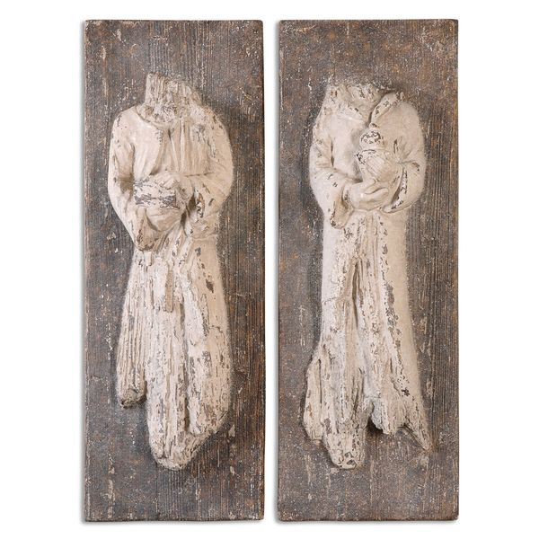 Saint Statues (Set of 2)