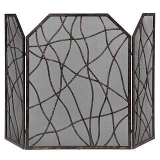 Dorigrass Metal Fireplace Screen