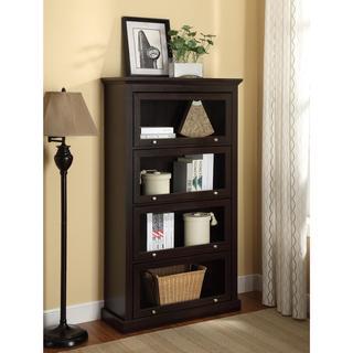 Altra Alton Alley Espresso 4-Shelf Barrister Bookcase