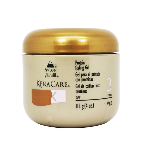 Avlon KeraCare 4-ounce Protein Styling Gel