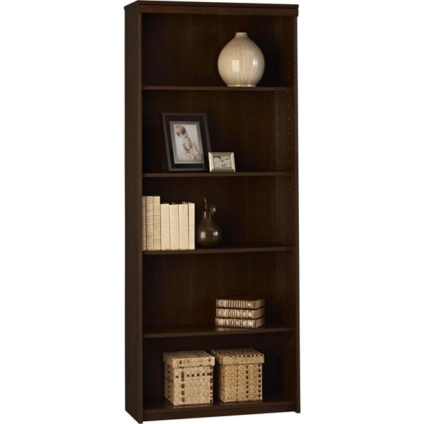 Altra 5-Shelf Resort Cherry Bookcase