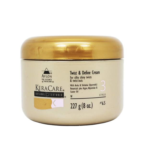 Avlon KeraCare 8-ounce Natural Textures Twist and Define Cream