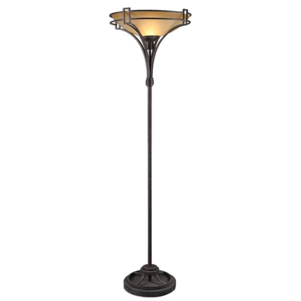 Verduno Rust Black Floor Lamp 17041807