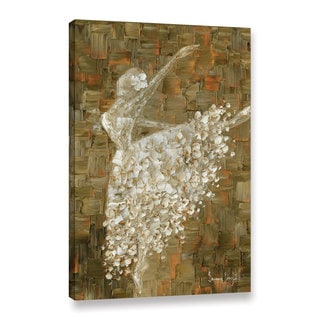 ArtWall Susanna Shaposhnikova's Ballerina, Gallery Wrapped Canvas