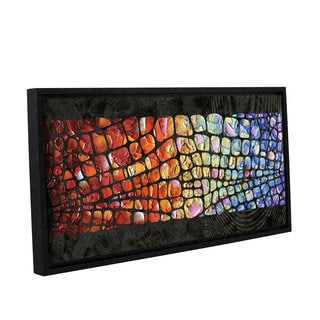 ArtWall Susanna Shaposhnikova's Glitz, Gallery Wrapped Floater-framed Canvas