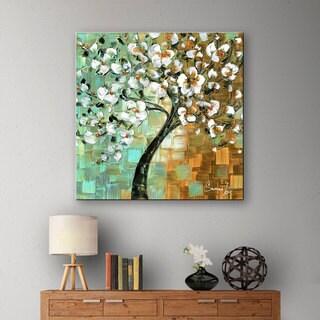 ArtWall Susanna Shaposhnikova's Tree, Gallery Wrapped Canvas