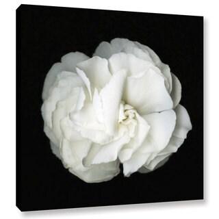 ArtWall Susanna Shaposhnikova's White Flower, Gallery Wrapped Canvas