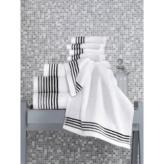 Classic 8 Piece Luxury Turkish Cotton-Bamboo Towel Set