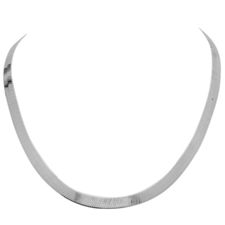 Sterling Essentials Silver 7 mm Italian Magic Chain (16-20 inches)