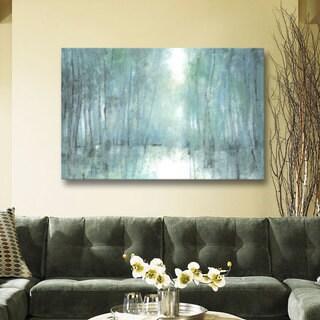ArtWall Norman Wyatt JR's Crisp Breeze, Gallery Wrapped Canvas